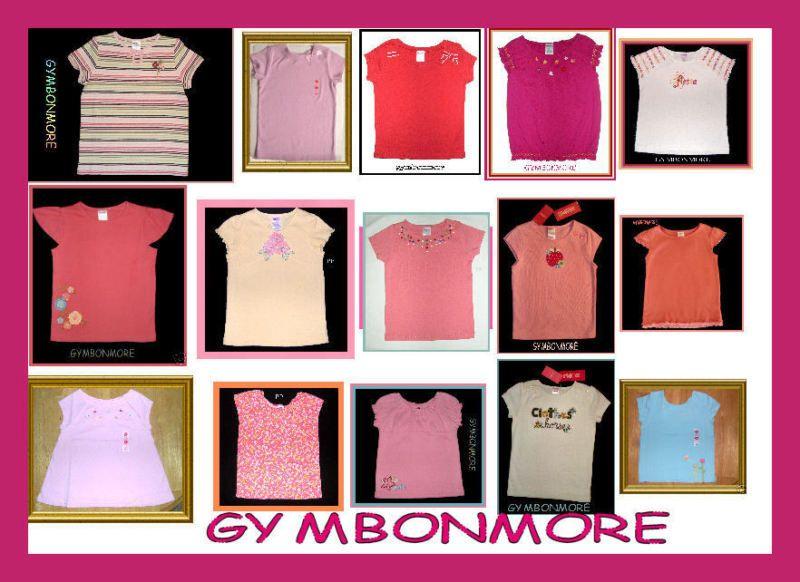 NWT Gymboree Girl Short Sleeve Top Tee Shirt NEW Choice