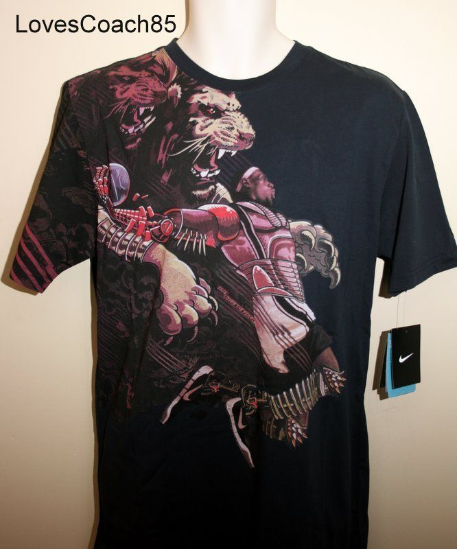 Lebron james shirts lion