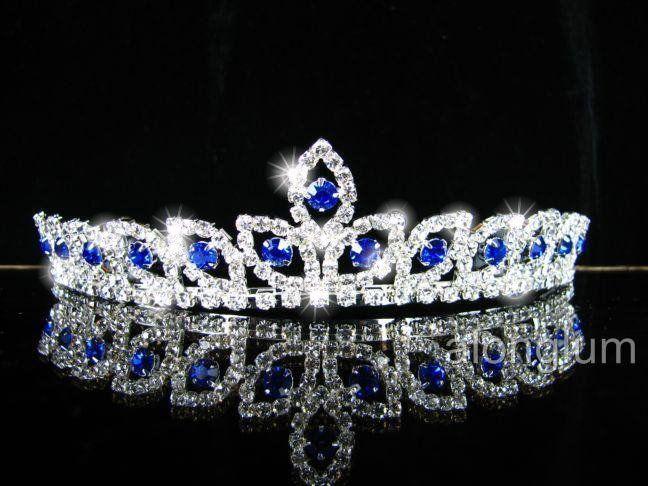 A275 11 Blue Wedding Bridal Bridesmaid Swarovski Crystal Rhinestone