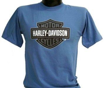 Harley Davidson Las Vegas Dealer Tee T Shirt Blue / Gray B&S MEDIUM
