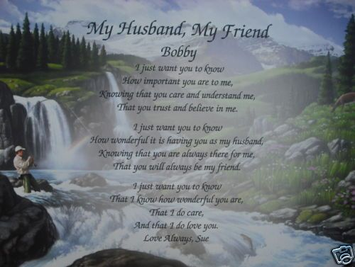 PERSONALIZED LOVE POEM FOR HUSBAND ANNIVERSARY, VALENTINES DAY OR