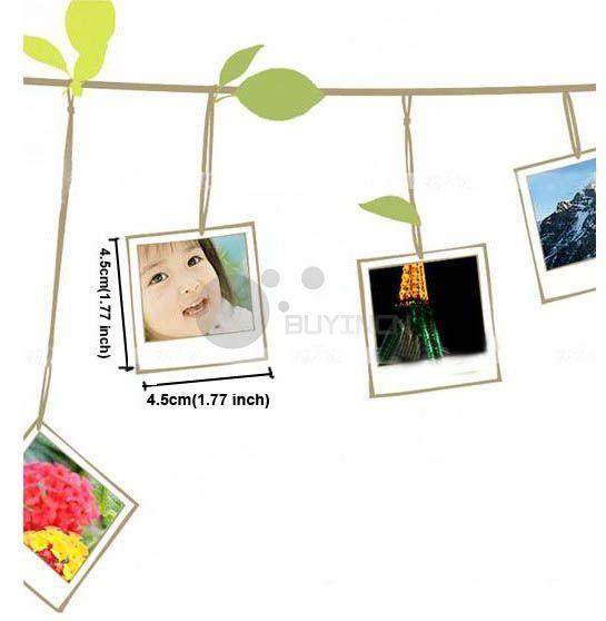 Removable Photo Frame Tree Birds Art Wall Sticker Mural Vinyl Decal