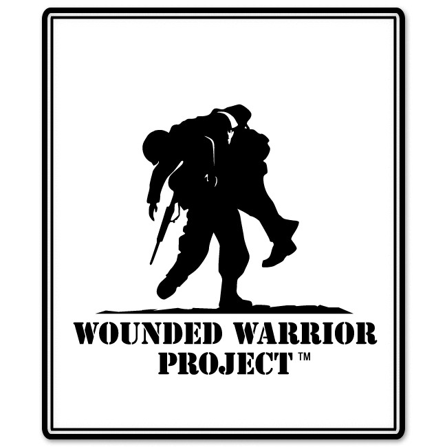 Wounded Warrior Project US Military Veterans car bumper sticker decal
